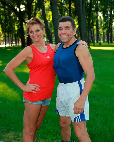 Елена Шапаренко и Геннадий Фальковский фото