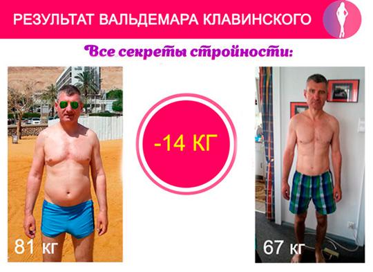 Дмитрий Кошелев отзыв похудение!